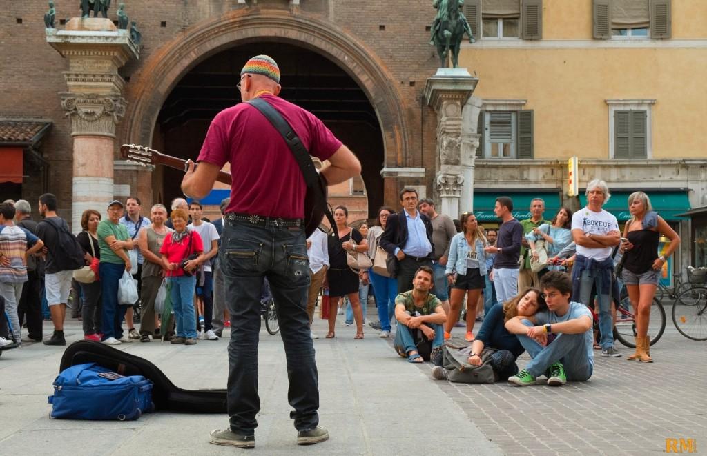 Buskers 2014 postazione Duomo