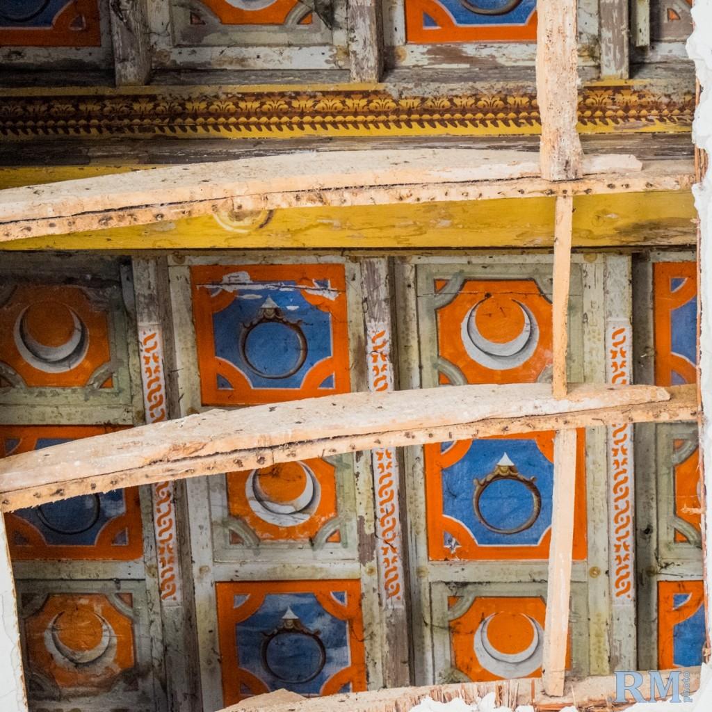 Villa Mensa affreschi